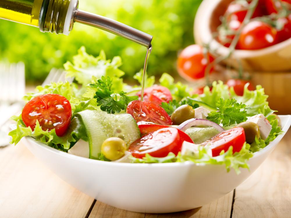 Dicas de saladas para o verão