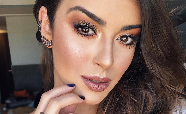Maquiagem marrom: tutoriais e mais de 40 inspirações que você vai amar
